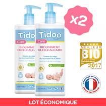 Tidoo - 2er Pack Bio-Pflegeöl mit Calcium 400ml