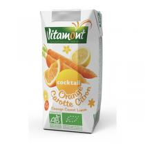 Vitamont - Cocktail Orange Carotte Citron Tetra 20cl