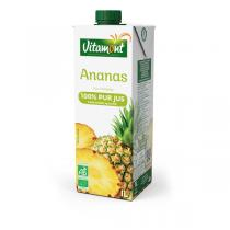 Vitamont - Pur Jus d'Ananas Tetra 1L