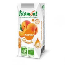 Vitamont - Nectar d'Abricot au Sirop D'Agave Tetra 20cl