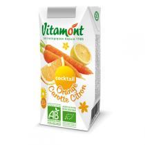 Vitamont - Cocktail Orange Carotte Citron Tetra 20cl