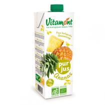 Vitamont - Pur Jus d'Ananas Tetra 1L