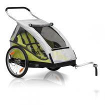XLC By CROOZER - Remorque Vélo Enfant Biplace BS-C05 Vert