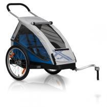 XLC By CROOZER - Remorque Vélo Enfant Monoplace BS-C06 Bleu