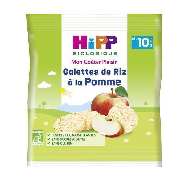 HiPP - Galettes de riz a la pomme 30g