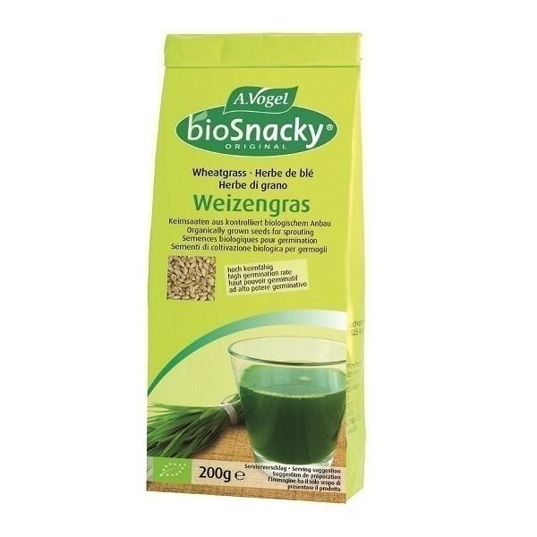 Semences pour germination herbe de bl 200gr avogel - Anti herbe ecologique ...