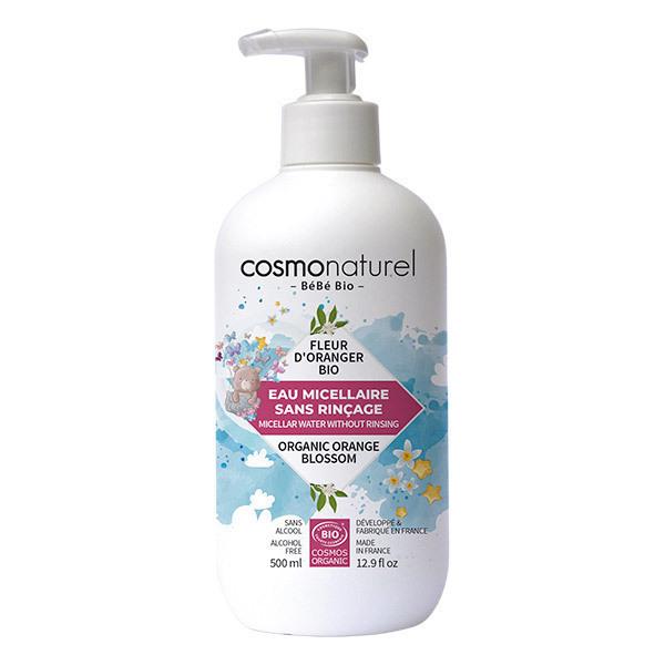 Cosmo Naturel - Eau micellaire sans rinçage bébé 50cl