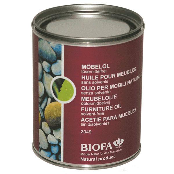 huile pour meubles sans solvants 2049 750ml biofa acheter sur. Black Bedroom Furniture Sets. Home Design Ideas
