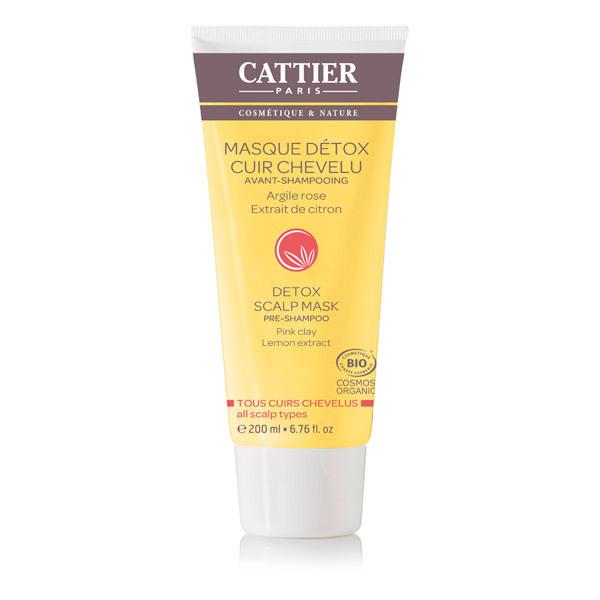 Cattier - Masque détox avant-shampooing 200ml