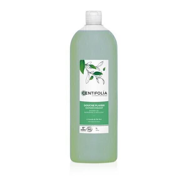 Centifolia - Gel douche Plaisir rafraîchissant Thé vert 1L