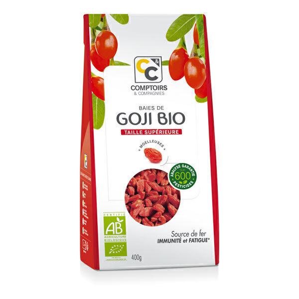 Comptoirs et Compagnies - Baies de Goji Bio origine Tibet - Sachet 400g