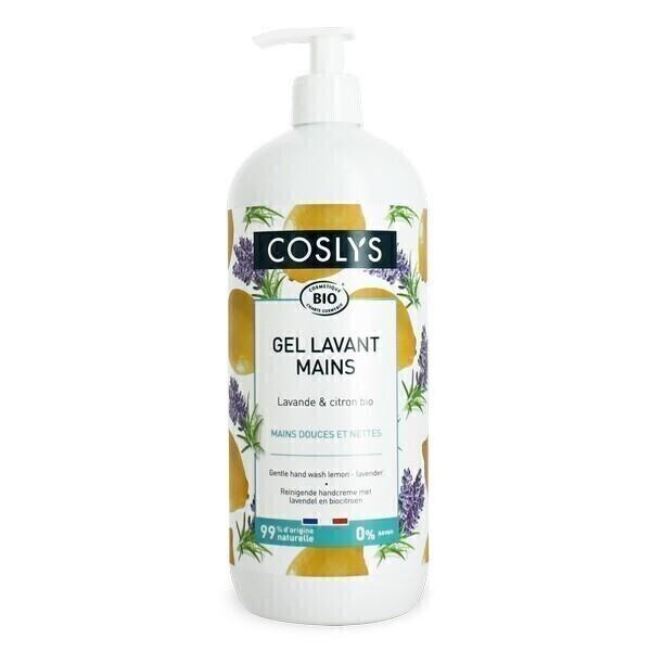 Coslys - Gel lavant mains Lavande citron 1L