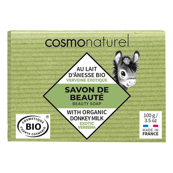 Cosmo Naturel - Savon lait d'ânesse Verveine exotique 100g