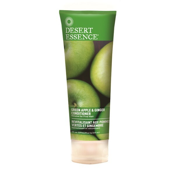 Desert Essence - Apres shampoing revitalisant a la pomme verte et gingembre 237ml