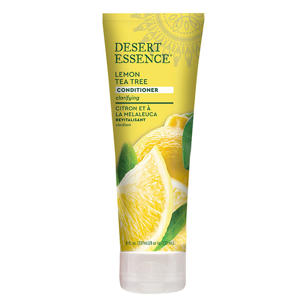Desert Essence - Apres shampoing revitalisant au citron 237 ml