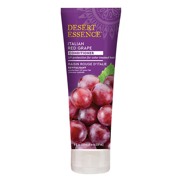 Desert Essence - Apres shampoing revitalisant au raisin rouge d'italie 237 ml