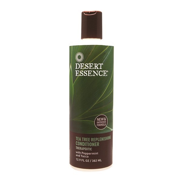Desert Essence - Apres shampoing revitalisant au melaleuca tea tree 382ml
