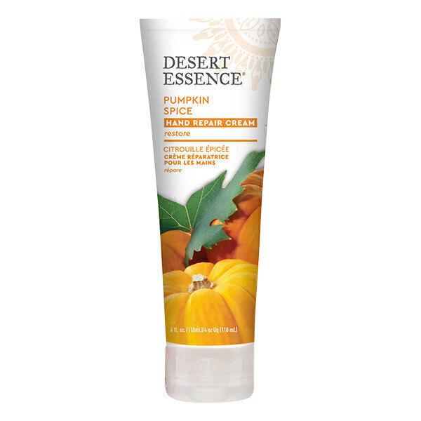 Desert Essence - Creme reparatrice pour les mains a la citrouille epicee 118ml