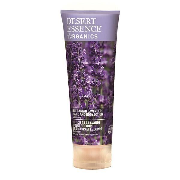 Desert Essence - Lotion lavande calmant,apaisant 237ml