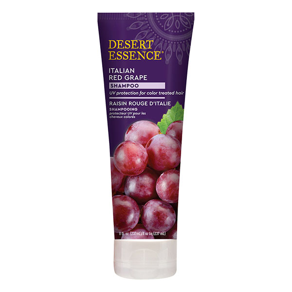 Desert Essence - Shampoing au raisin rouge d'italie 237 ml