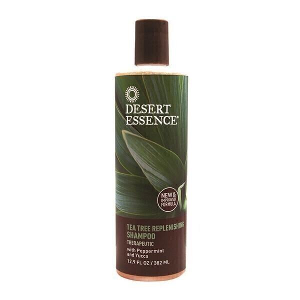 Desert Essence - Shampoing regenerateur au melaleuca tea tree 375 ml