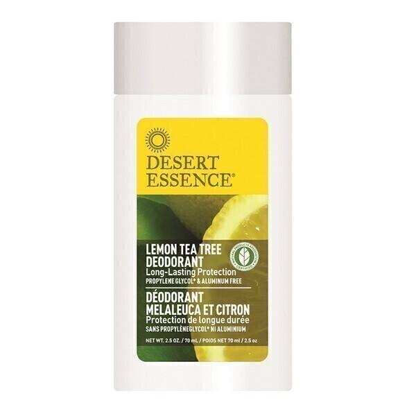 Desert Essence - Stick déodorant arbre à thé 70ml citron