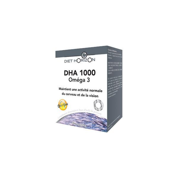 Diet Horizon - DHA 1000, 60 capsules