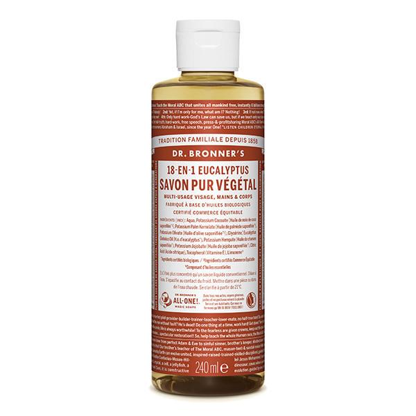 Dr Bronner's - Savon liquide Eucalyptus 240ml