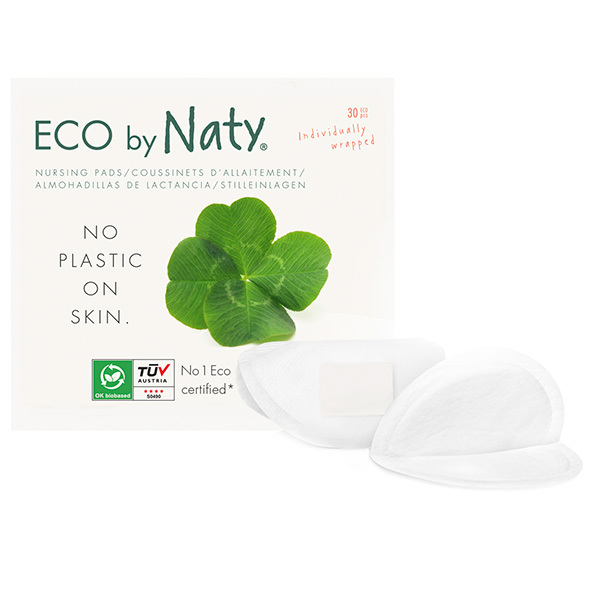 Eco by Naty - 30 Coussinets d'allaitement