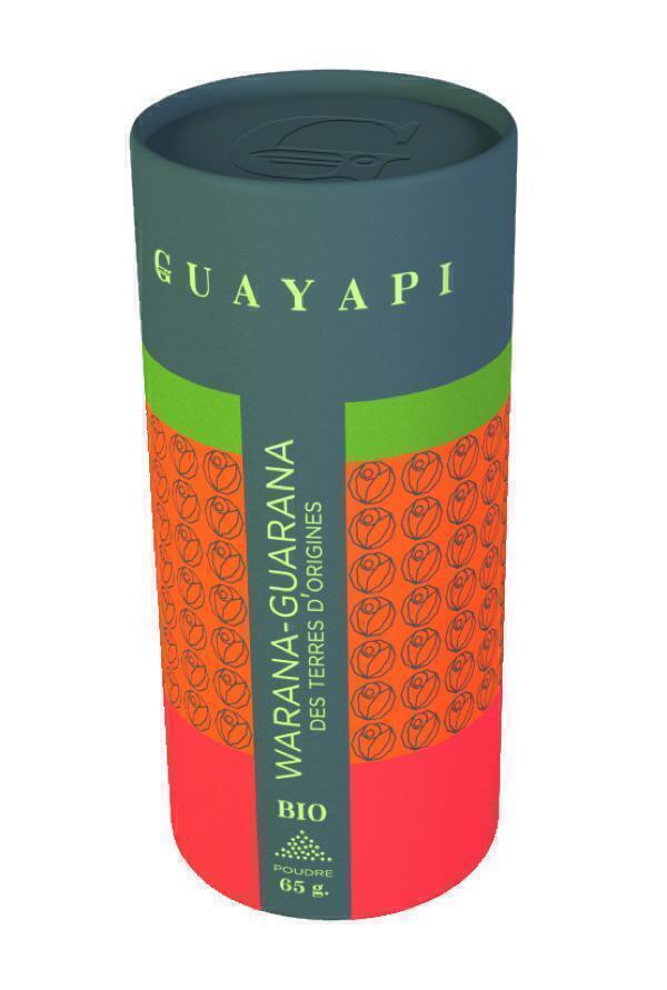 guarana pulver 65g guayapi einkaufen auf. Black Bedroom Furniture Sets. Home Design Ideas