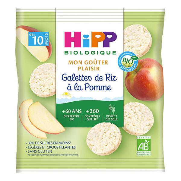 Hipp - Galettes de Riz à la Pomme 30g
