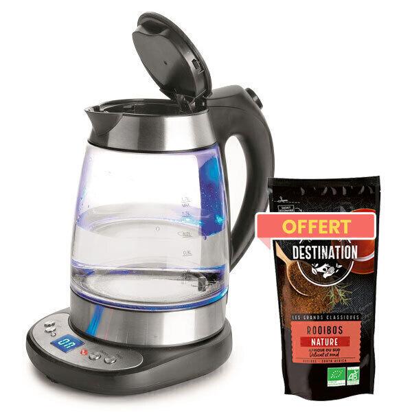 Lacor - Bouilloire électrique à température variable + thé offert