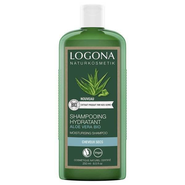 Logona - Shampooing hydratant aloé vera 250ml