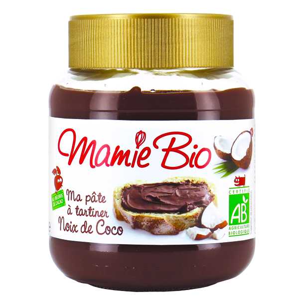 Pate tartiner cacao coco 350g mamie bio acheter sur - Pate a tartiner maison bio ...