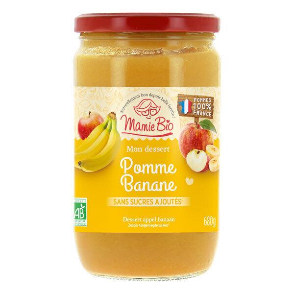 Mamie Bio - Purée de Pomme France & Banane 680g