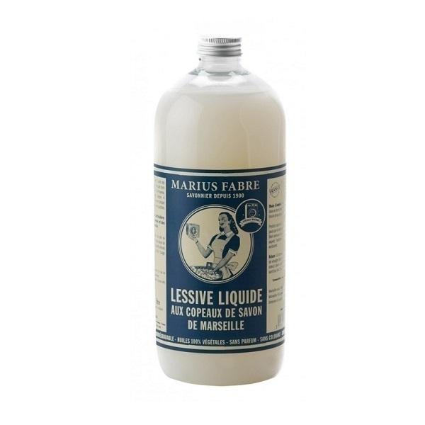 Lessive aux copeaux de savon de marseille 1l marius fabre - Copeaux de savon de marseille ...