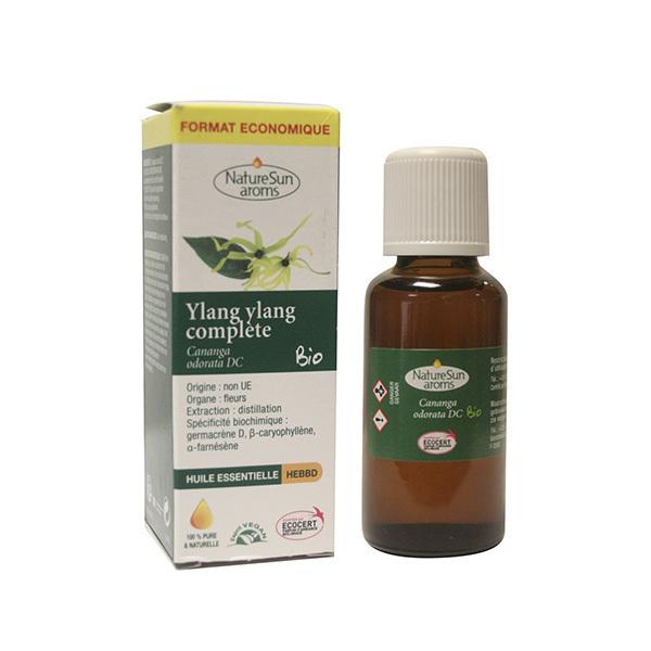 NatureSun Aroms - Huile Ess. Ylang Ylang Complète BIO 30mL