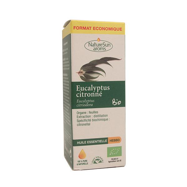 NatureSun Aroms - Huile essentielle eucalyptus citronné 30ml