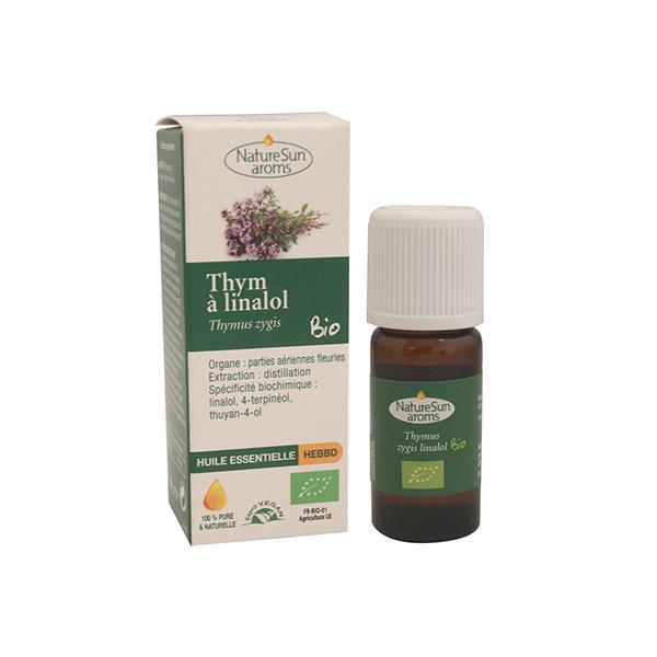 NatureSun Aroms - Huile Essentielle Thym à Linalol BIO 30mL