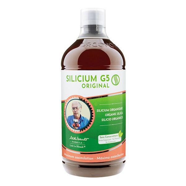 Silicium espana laboratorios - Silicium Organique G5 Original Sans Conservateurs - Bouteille 1L