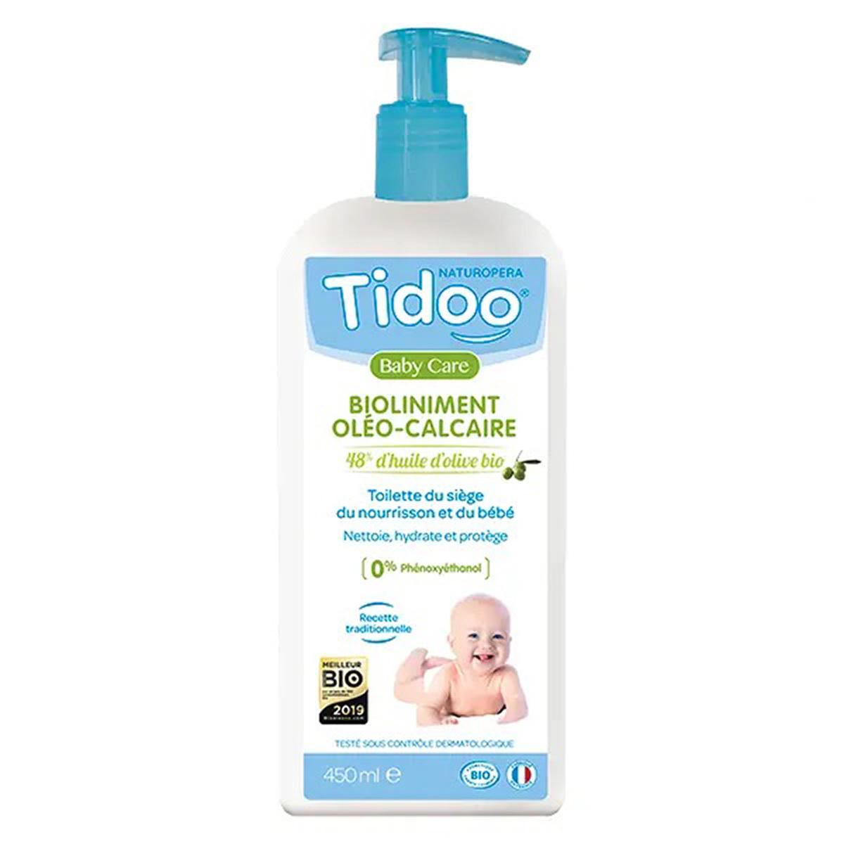Tidoo - 2 Bioliniments Oléo Calcaire Sans Conservateurs 450ml