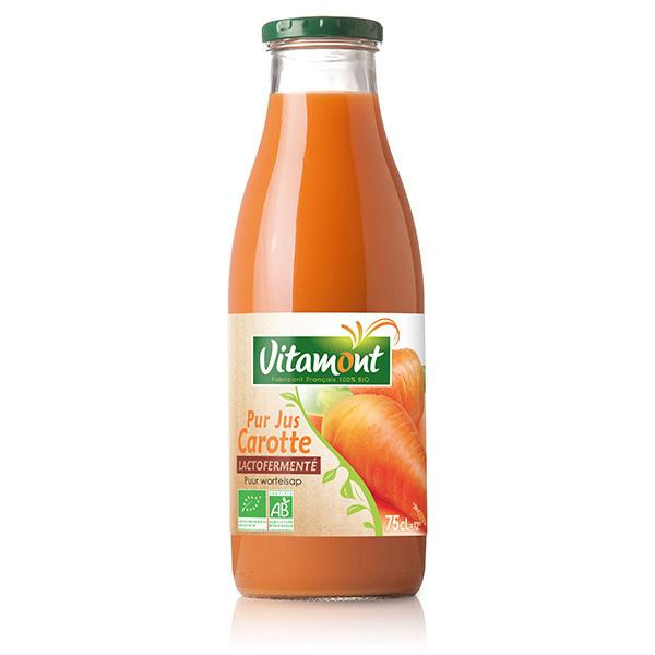 Vitamont - Pur Jus de Carotte Lactofermenté 75cl