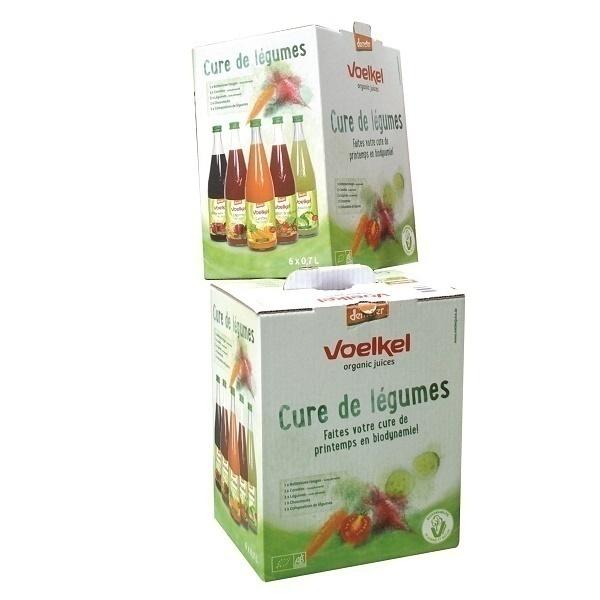 voelkel - Cure 1 semaine de Jus Lacto Fermentés - 6 x 0,75L