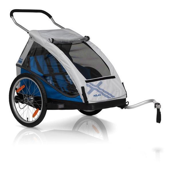 remorque v lo enfant biplace bs c05 bleu xlc by croozer. Black Bedroom Furniture Sets. Home Design Ideas