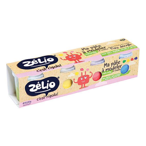 Zélio - Pâte à modeler 4x135g