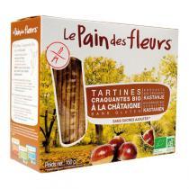 Le pain des fleurs - Tartine craquante à la Châtaigne 150g