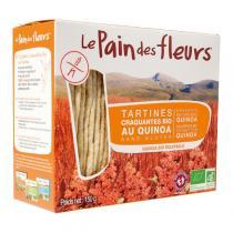 Le pain des fleurs - Tartine craquante au Quinoa 150g