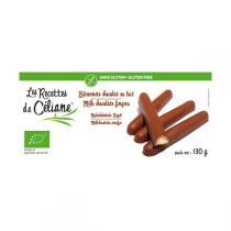 Les Recettes de Céliane - Glutenfreie Milchschokoladenriegel.
