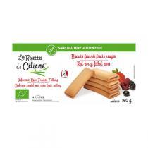 Les Recettes de Céliane - Glutenfreie Kekse mit Beerenfrüchten