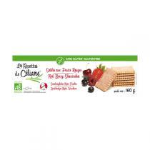 Les Recettes de Céliane - Beerenfrüchte-Spritzgebäck